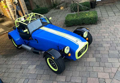 Pretty much race ready Caterham Academy car