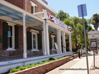 The Thomas Whaley House in San Diego State Historic Park
