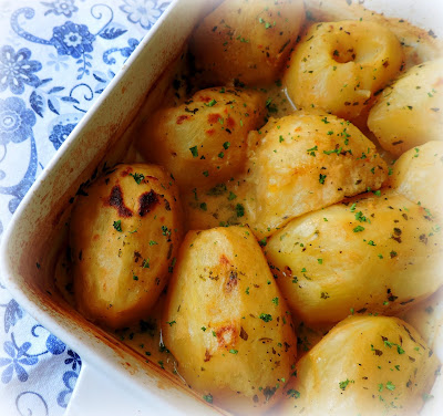 Oven Braised Potatoes