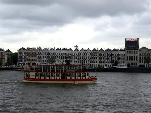 Nieuwe Maas Rotterdam, the Netherlands