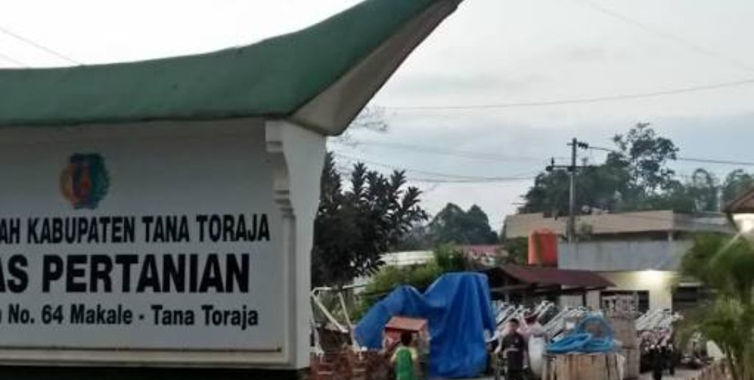 Astaga! Kantor Dinas Pertanian Tana Toraja Dibobol Maling