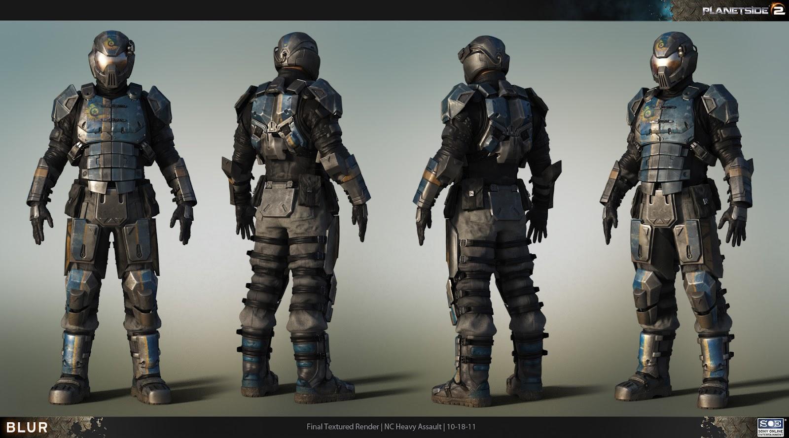 Mark Skelton Planetside Male Soldier