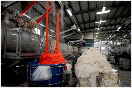 Flow Chart Of Re Dyeing Shade Dyeing Process Textile