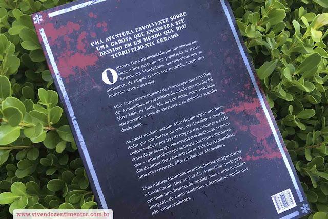 Livro Alice no País das Armadilhas, Mainak Dhar, Editora Única