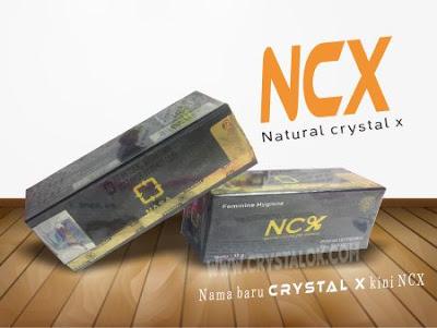 gambar ncx asli pengganti crystal x