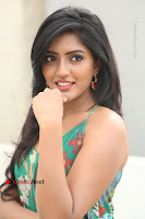 Actress Eesha Latest Pos in Green Floral Jumpsuit at Darshakudu Movie Teaser Launch .COM 0123.JPG