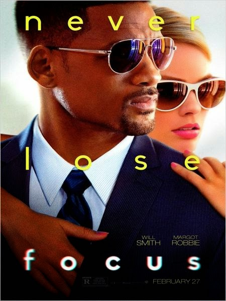 Affiche Diversion (Focus) avec Will Smith et Margot Robbie