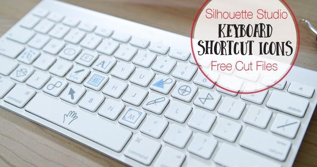 Silhouette Studio Keyboard Shortcut Icons Free Design