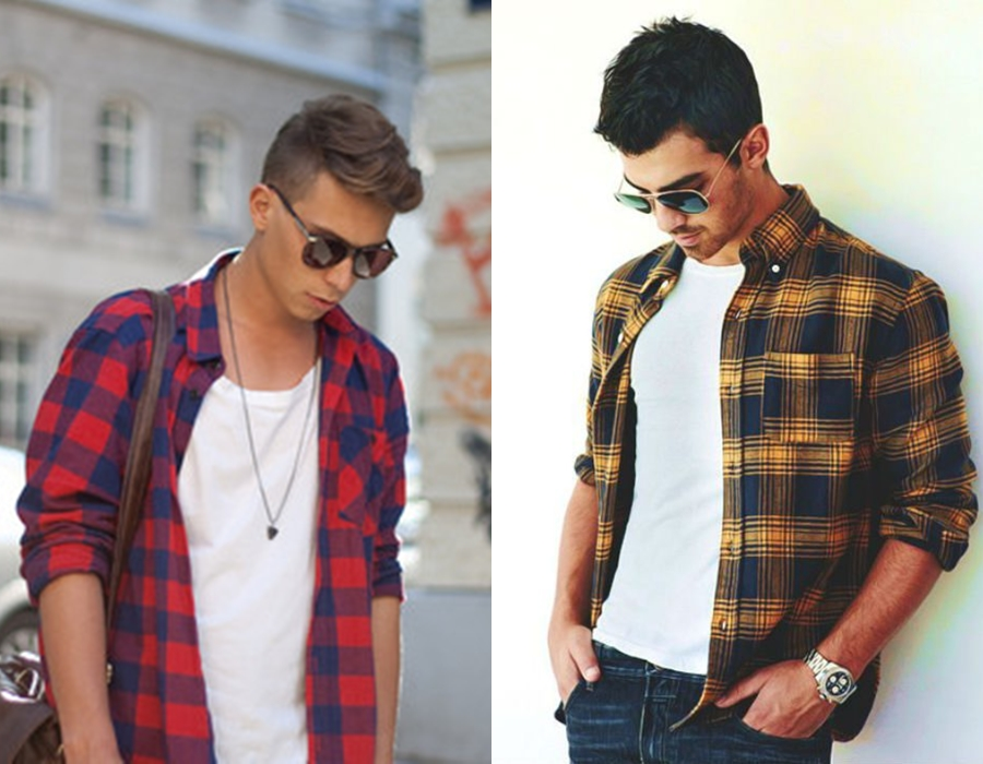 7ca9a099f8 Como usar camisa xadrez masculina - Guia da Moda Masculina - Blog de ...