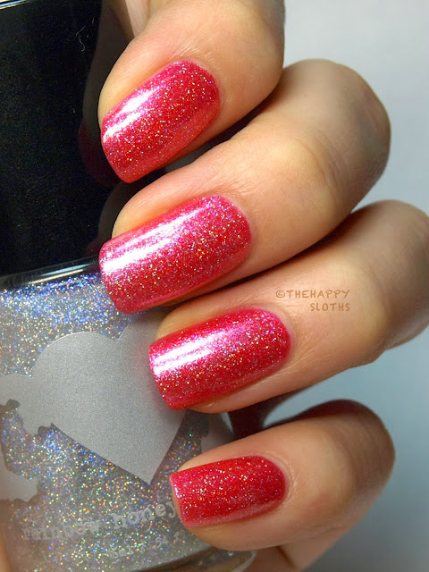 Rainbow Honey Nail Lacquer In Quot Diamond Dust Quot Review And Swatches The Happy Sloths Beauty