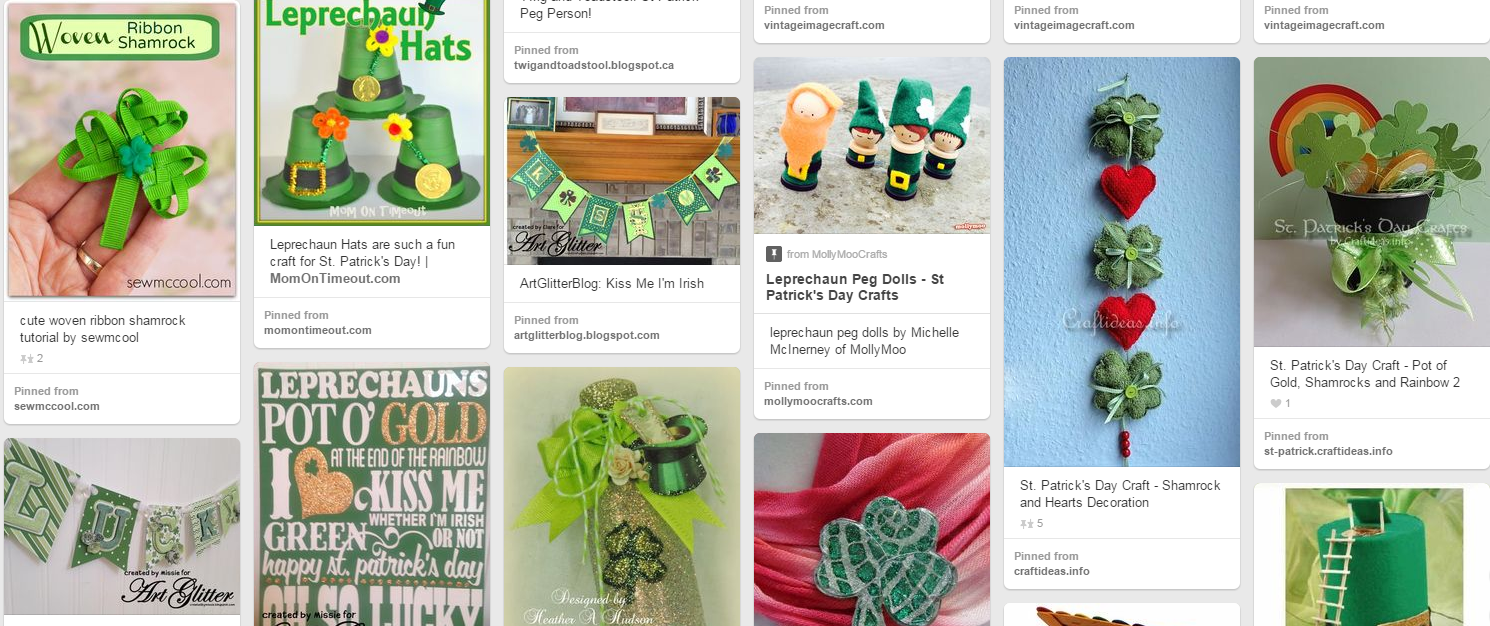 The Best Free Crafts Articles: St. Patrick's Day Craft Tutorials ...