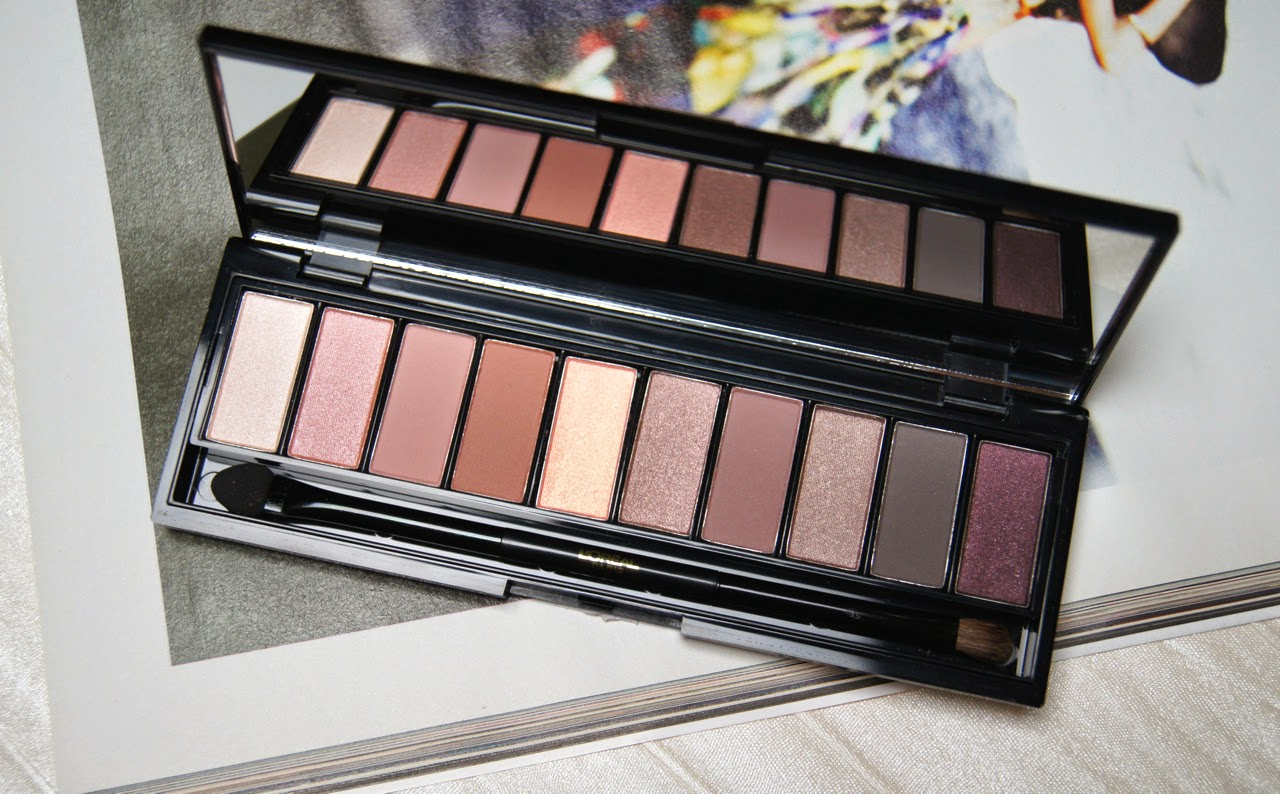 loreal la palette nude rose review swatches