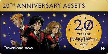 Harry Potter menyambut ulang tahun ke-20