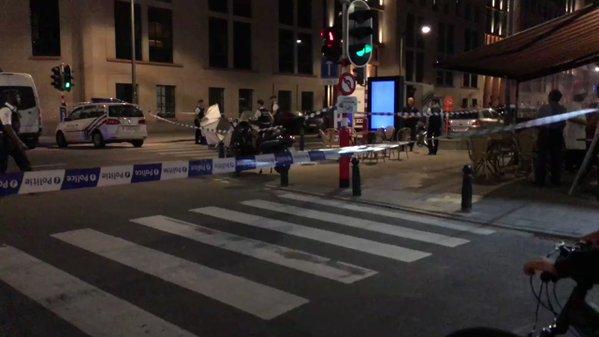 """Abaten en Bruselas a un hombre tras atacar a dos militares al grito de """"Alá es grande"""""""
