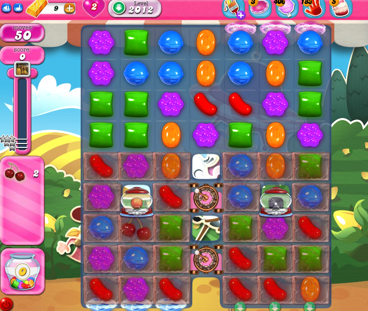 Candy Crush Saga 2012