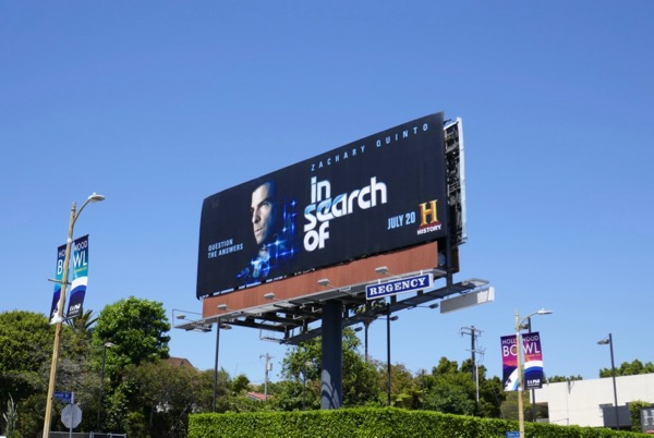 In Search Of season 1 billboard