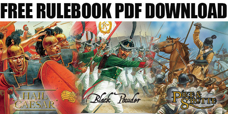 10mm Wargaming: Free PDFs, Hail Caesar, Pike & Shotte and