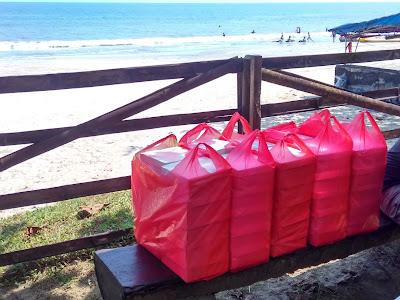 Nasi Box Pantai Anyer Carita untuk Dreamlight