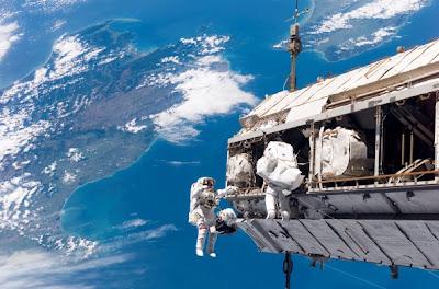 Fotos de caminatas espaciales 6