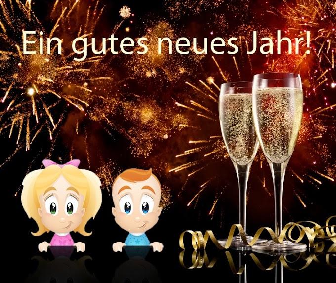 Almanca Yeni Yıl Kutlama Resimli Mesajları