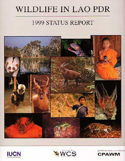 Lao book review of Wildlife in Lao PDR 1999 Status Report by Duckworth, Salter, Khounboline, et al.