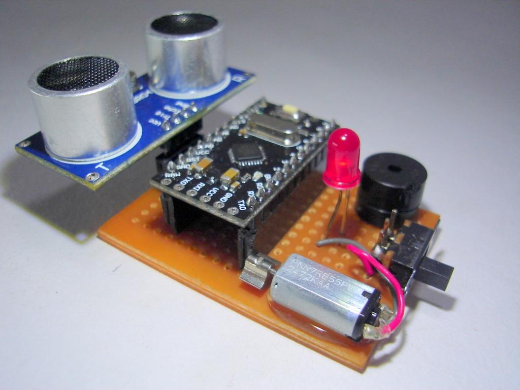 Robotech Maker: THIRD EYE FOR THE BLIND