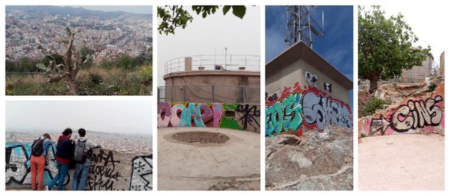 Photo sur les hauteurs des Bunkers del Carmel
