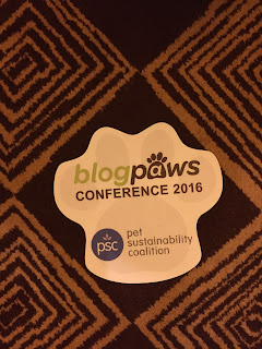 The BlogPaws Paw!