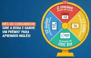 Cadastrar Promoção English Live 2018 Mês Consumidor Gire Roda Ganhe Prêmio