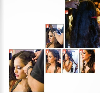 Lisa Haydon Photo shoot for Estetica Cover page