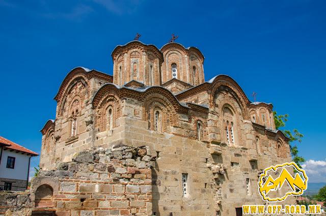 St. George church - Staro Nagorichane built in year 1313