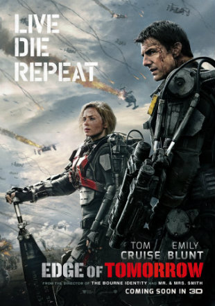 Edge of Tomorrow (2014) 720p BRRip Dual Audio [Hindi Eng]