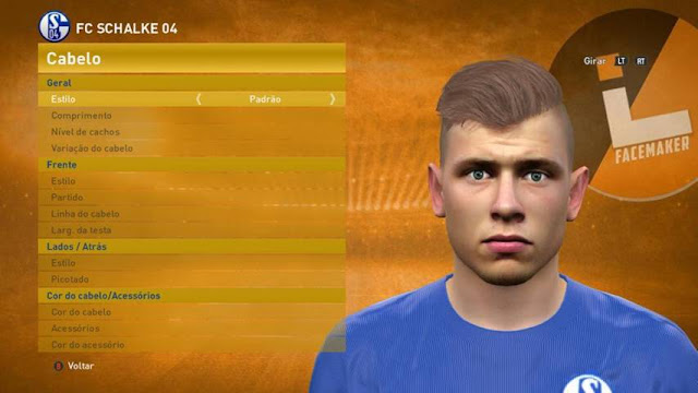 PES 2016 Max Meyer New Face