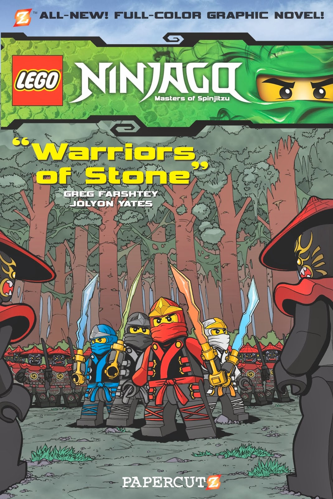 All About Bricks: Review: Ninjago Graphic Novels #6 & #7