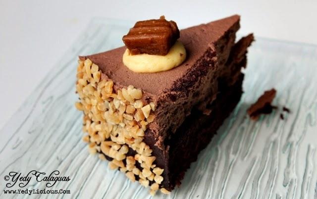 Burger Company Desserts, Chocolate Chocnut Mousse Cake