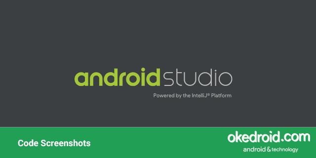 tips cara menginstall menggunakan plugin code screenshots di Android Studio