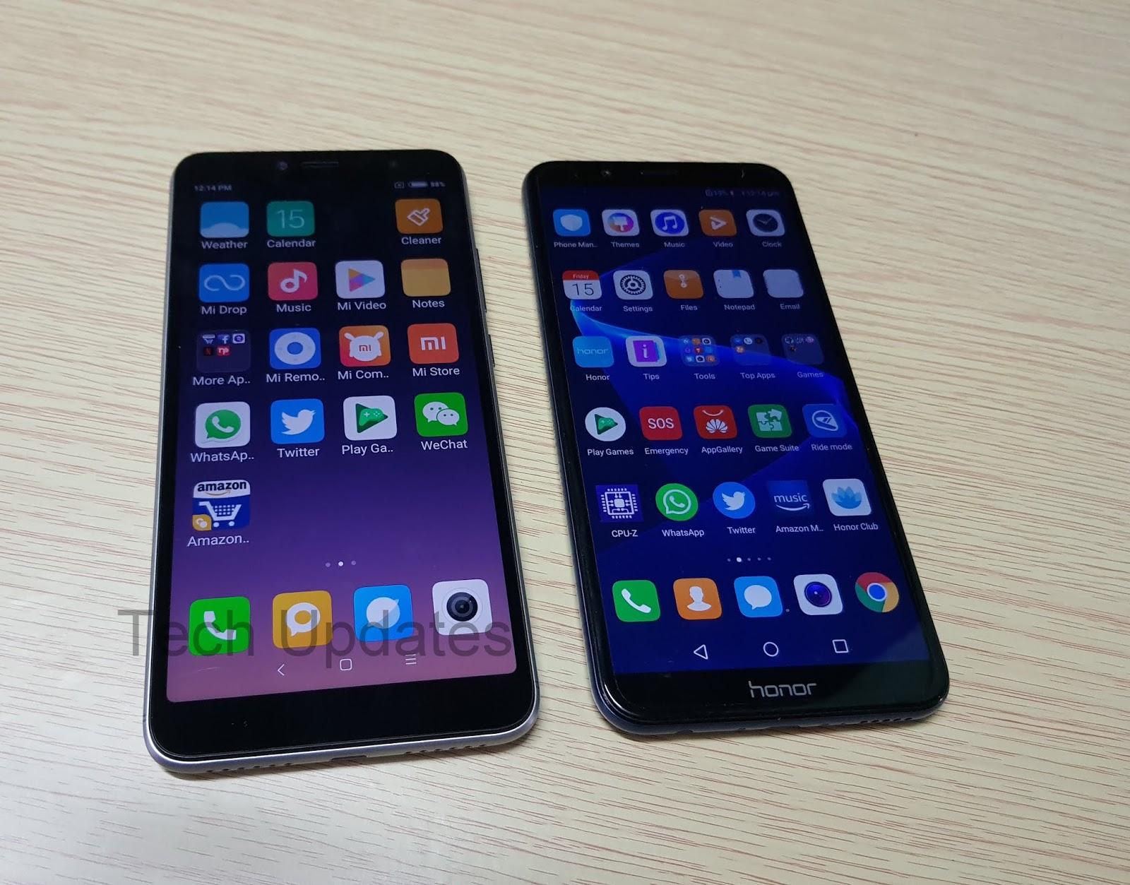 Xiaomi Redmi Y2 vs Honor 7C Comparison - Tech Updates