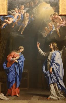 Imagem da Anunciação do anjo a Nossa Senhora, pintura, #2