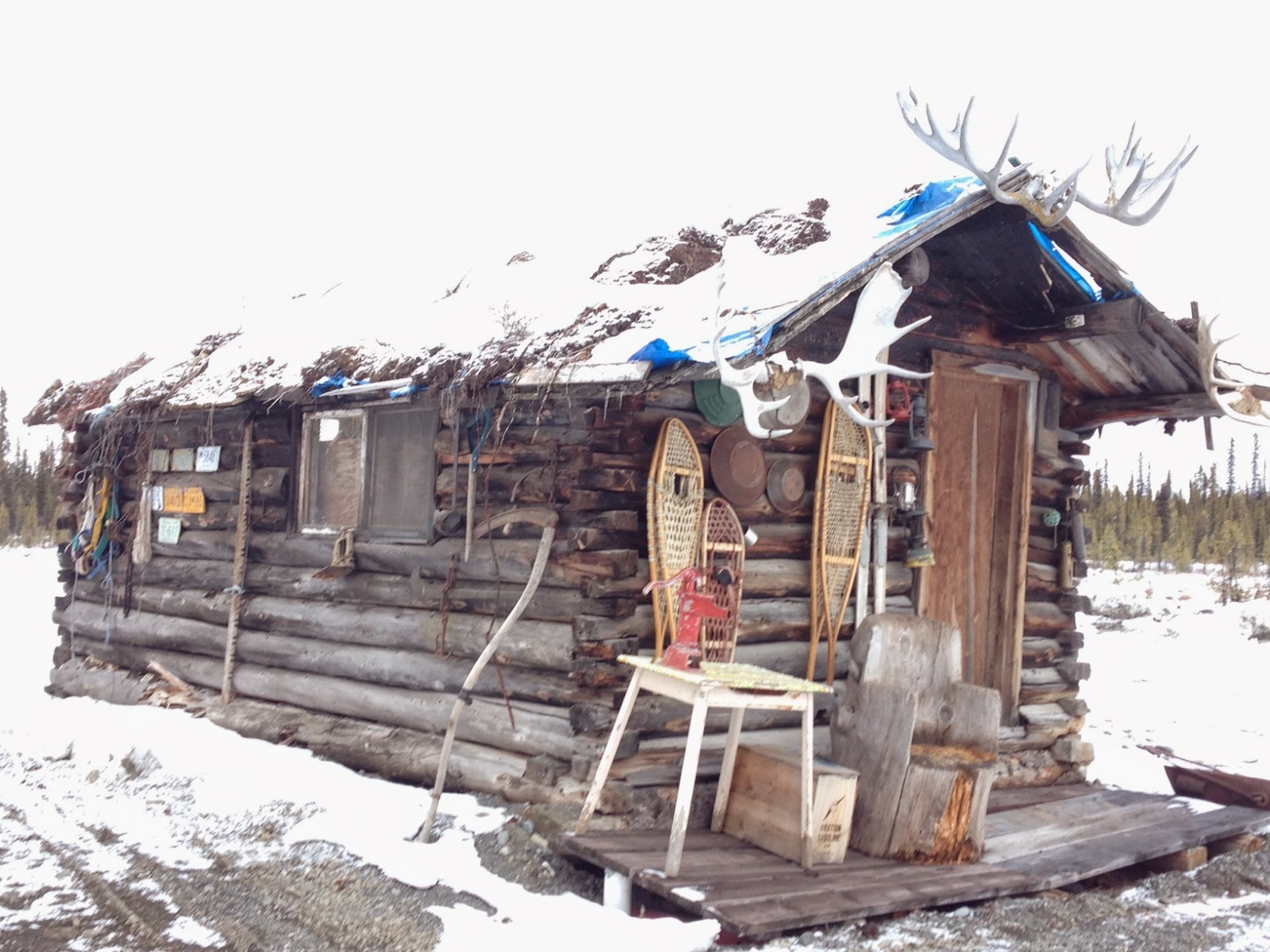 When the larger, original lodge, burned down, this Tolsona cabin remained.