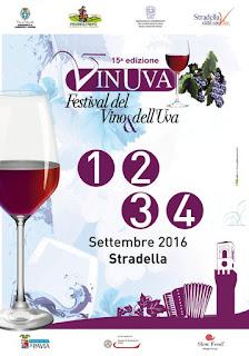 Vinuva 1-2-3-4 settembre Stradella (PV) 2016