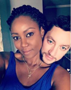 Yvonne Nelson's baby daddy flies into Ghana to be with her