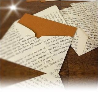 ide amplop dari kertas bekas kreatif
