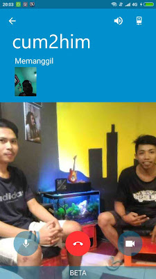 Cara Video Call di BBM Android