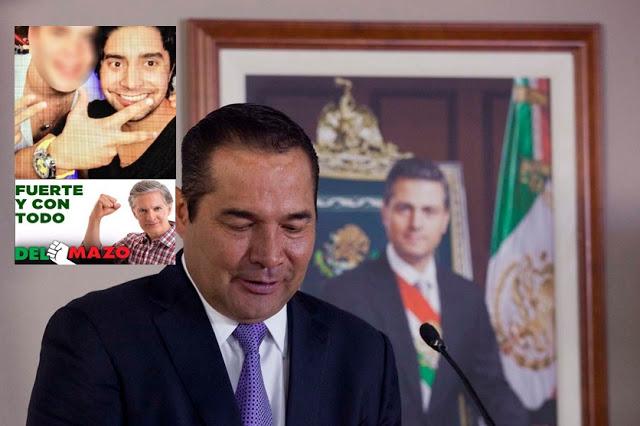 Hijo de funcionario priísta Luis Miranda presume relojes de 500 mil pesos