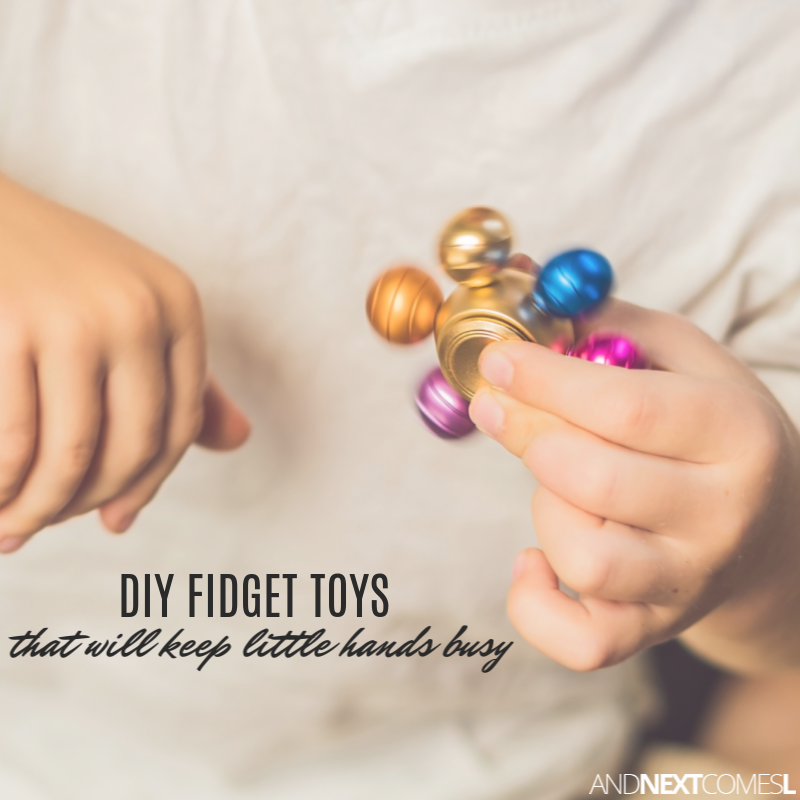 252cc9579f 20+ Epic DIY Fidget Toys That Will Keep Little Hands Busy | And Next ...