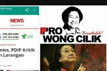 Pedas! Anies Sindir PDIP: Pengguna Sepeda Motor itu Wong Cilik