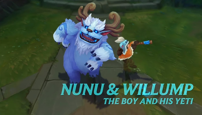 Nunu & Willump - Champion Spotlight - Gameplay - League of Legends | LoL