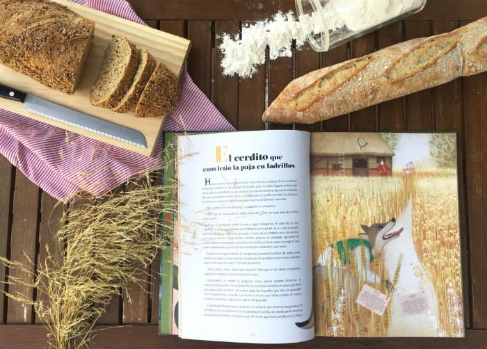libro conocimientos plantas, vegetales Cuéntame, sésamo, cuentos clásicos