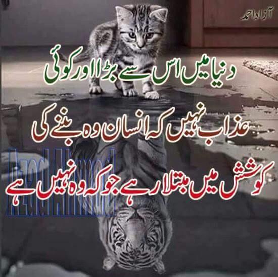 Duniya me is se bara koi aazab