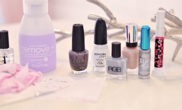 nail art, nail polishes